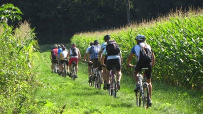 rallye velo vignoble bordelais